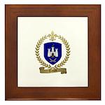 TEMPLE Family Crest Framed Tile