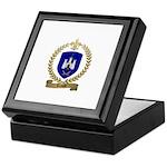 TEMPLE Family Crest Keepsake Box