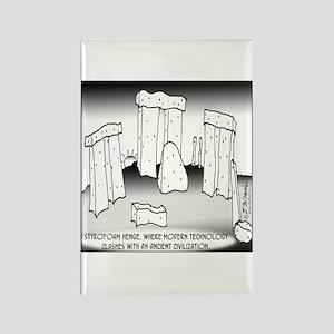 Styrofoam Henge Rectangle Magnet