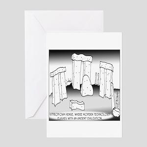 Styrofoam Henge Greeting Card