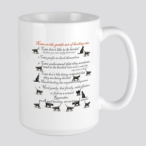 Herding cats Large Mug