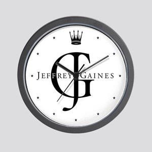Jeffrey Gaines Wall Clock