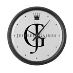 Jeffrey Gaines Large Wall Clock