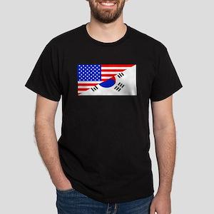 Korean American Flag T-Shirt