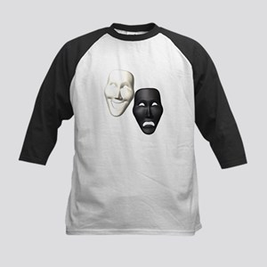 MASKS OF COMEDY & TRAGEDY Kids Baseball Jersey