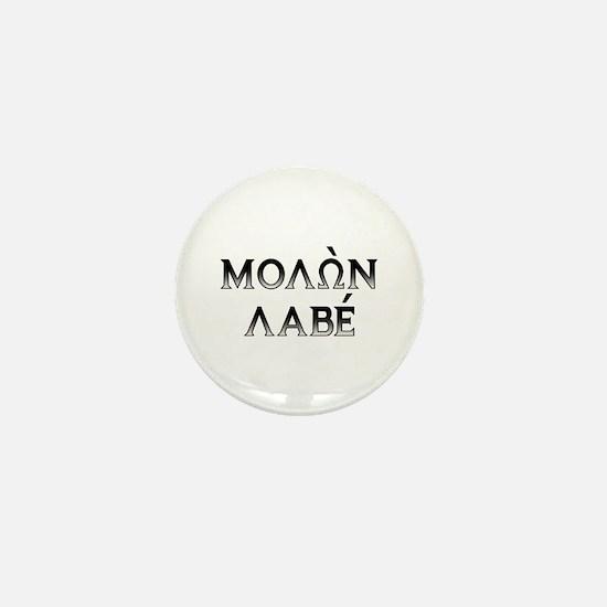 Molon Labe: Mini Button