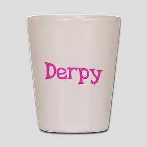 Derpy Shot Glass