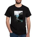 Bermuda Rock Formations by Kh Dark T-Shirt