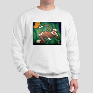 Leaf Sock Monkey Sweatshirt