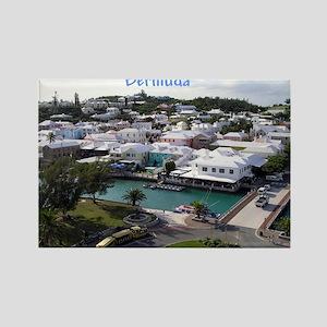 Hamilton, Bermuda Rectangle Magnet