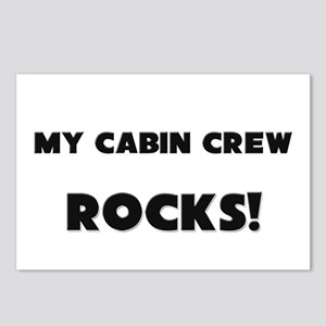 MY Cabin Crew ROCKS! Postcards (Package of 8)