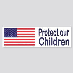Protect Our Children Bumper Sticker