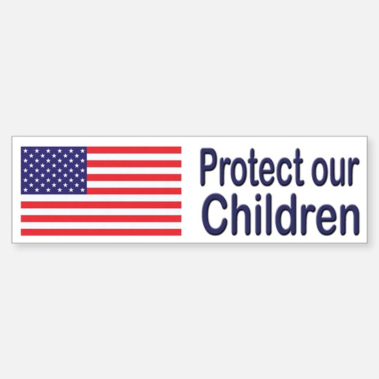 Protect Our Children Bumper Bumper Bumper Sticker