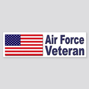 Air Force Veteran Bumper Sticker