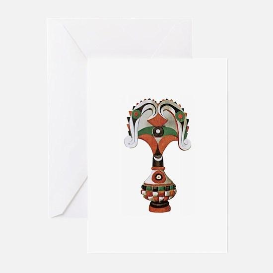 African Artifact Greeting Cards (Pk of 10)