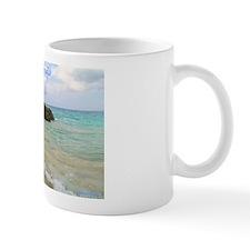 Pink Sandy Beach in Bermuda - Mug