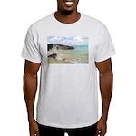 Pink Sandy Beach in Bermuda - Light T-Shirt