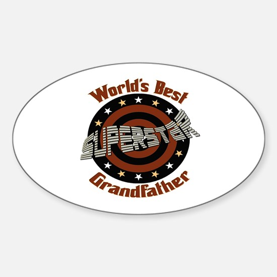 Superstar Grandfather Oval Decal