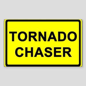 (10 pack) TORNADO CHASER - Bumper/Window Sticker