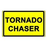 (10 pack) TORNADO CHASER - Bumper/Window Sticker