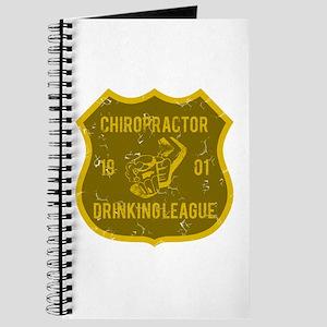 Chiropractor Drinking League Journal