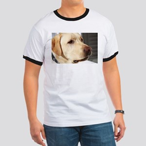 Yellow Lab (photo) Ringer T
