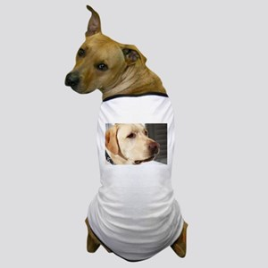 Yellow Lab (photo) Dog T-Shirt