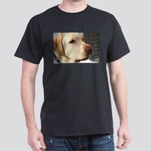 Yellow Lab (photo) Dark T-Shirt