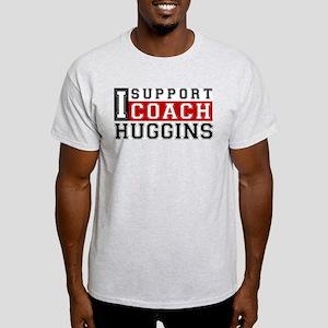 I Support Huggins Ash Grey T-Shirt