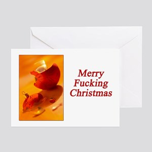 Merry Fucking Christmas Greeting Cards (Pk of 20)