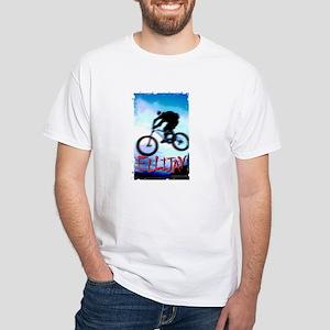 Mountain Bike Ellijay White T-Shirt