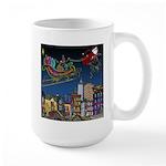 Santa Under New Management Large Mug