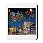 Santa Under New Management Mousepad