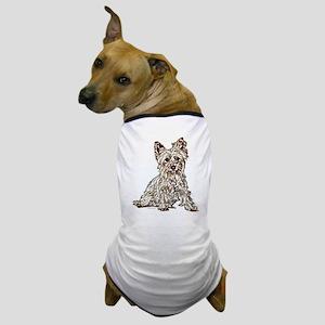 Silky Terrier (sketch) Dog T-Shirt