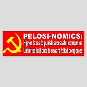 Pelosi Government Bail Outs Bumper Sticker