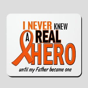 Never Knew A Hero 2 ORANGE (Father) Mousepad