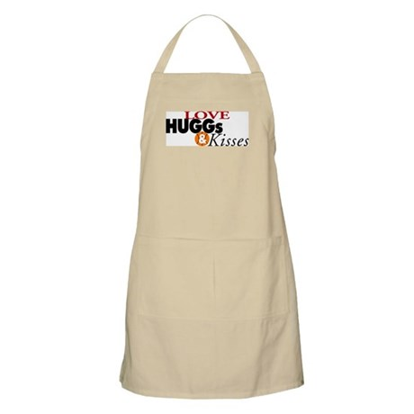 Love Huggs and Kisses BBQ Apron