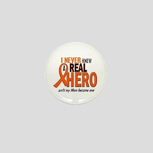 Never Knew A Hero 2 ORANGE (Mom) Mini Button