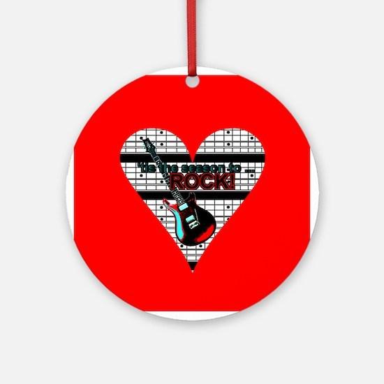 """""""Tis the Season to Rock!"""" Ornament (R"""