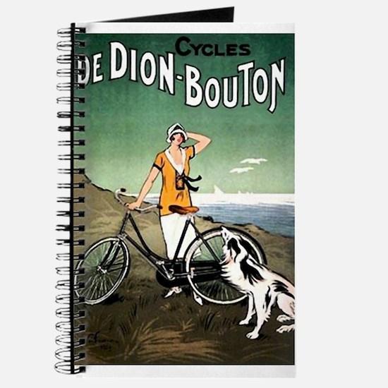 Bicycle Girl & Dog Journal