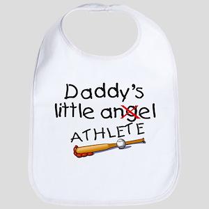 Daddy's Little Athlete (Baseball) Bib
