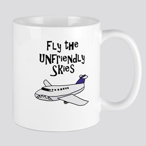 Funny Bad Airlines Flight Cartoon Mugs