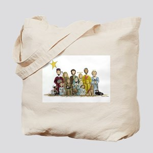 Christmas Nativity Tote Bag