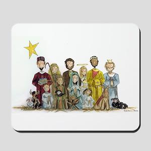 Christmas Nativity Mousepad