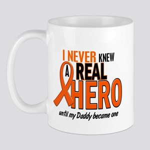 Never Knew A Hero 2 ORANGE (Daddy) Mug