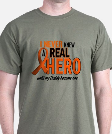 Never Knew A Hero 2 ORANGE (Daddy) T-Shirt