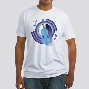 Double Bass Deco2 Fitted T-Shirt
