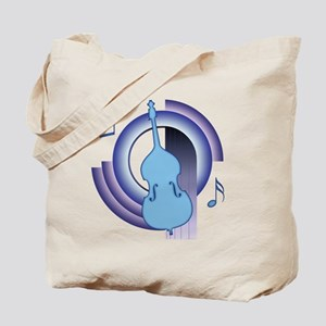 Double Bass Deco2 Tote Bag