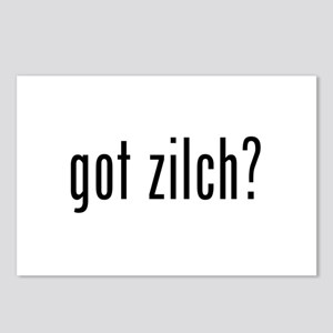 got zilch? Postcards (Package of 8)