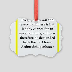 arthur schopenhauer quote Ornament